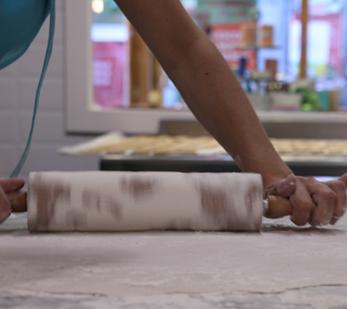 Obrador de la pastisseria la besnéta